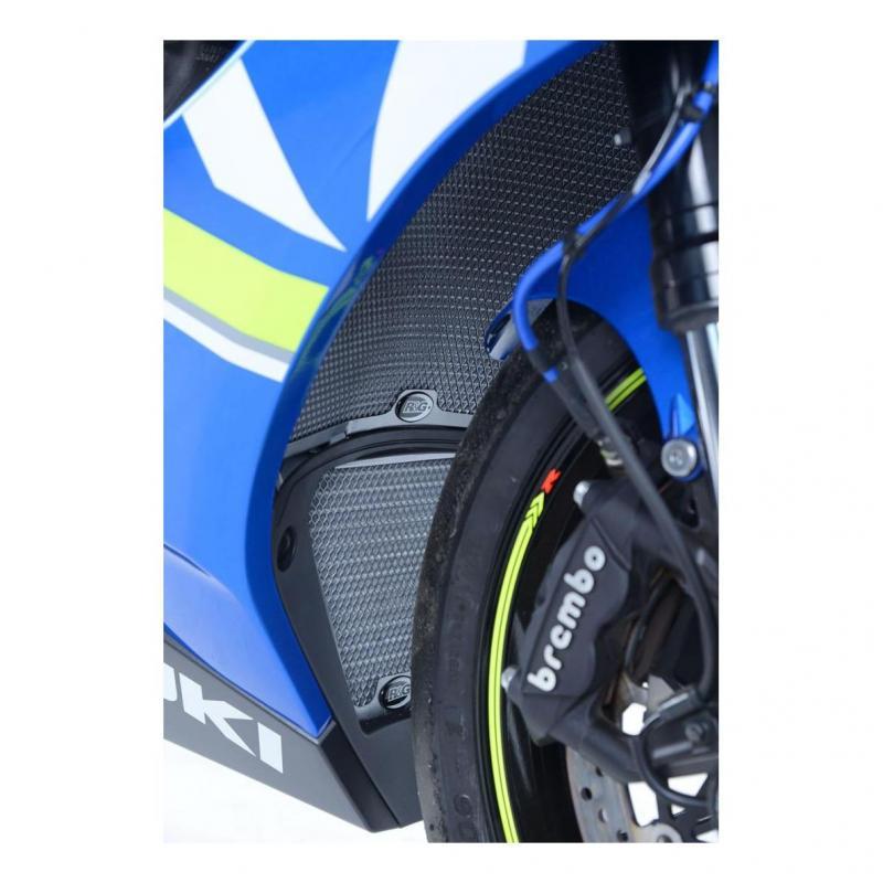 Protection de radiateur aluminium bleu R&G Racing Suzuki GSX-R 1000 19-20