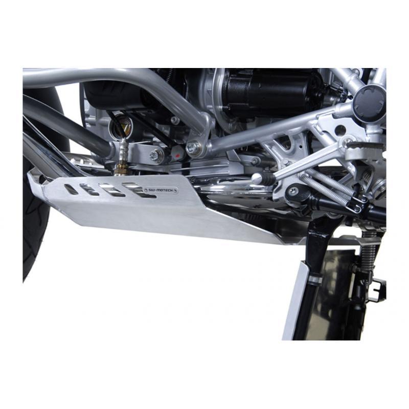 Sabot moteur SW-MOTECH gris BMW R 1200 GS 04-12 / Adventure 08- - 2