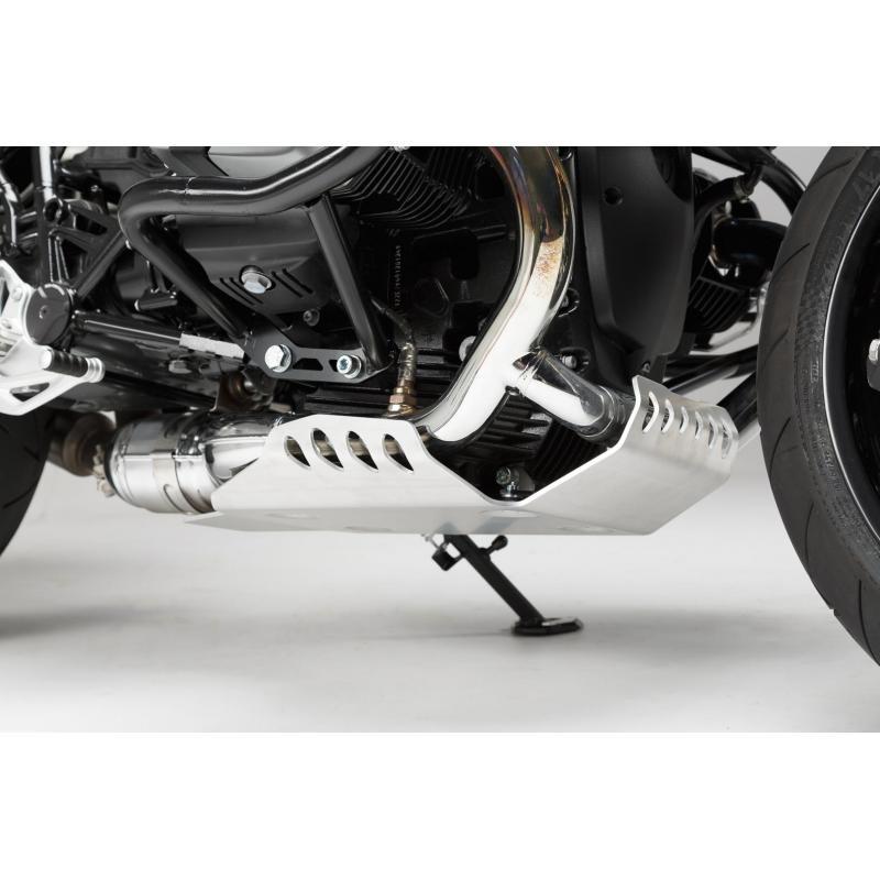 Sabot moteur SW-MOTECH gris BMW R nineT 14- / Scrambler 16- - 2
