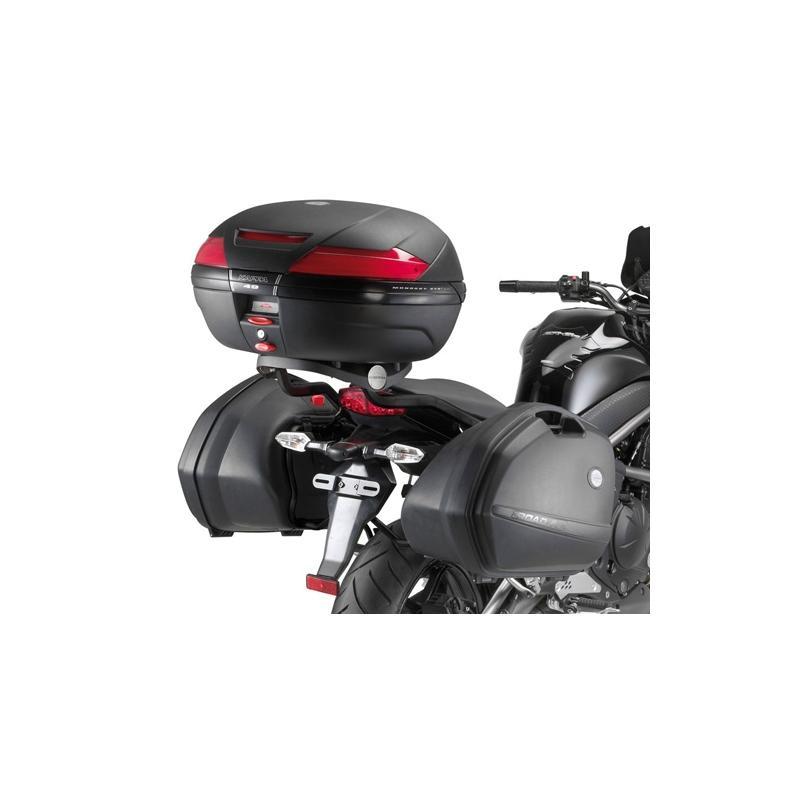 Support de top case Kappa Monorack Kawasaki ER 6N 09-11