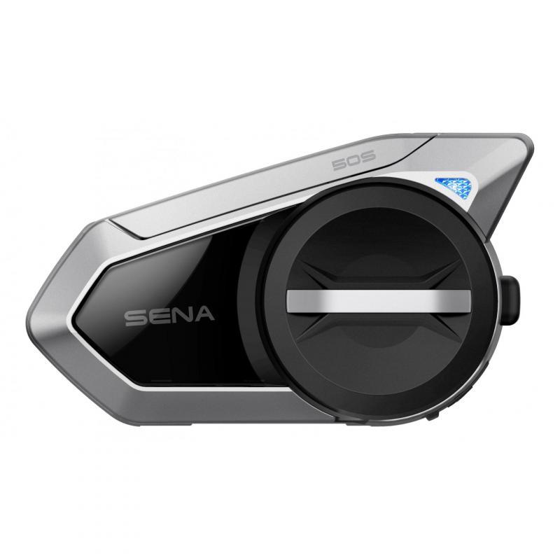 Système de communication bluetooth Sena 50S Mesh 2.0 – Solo