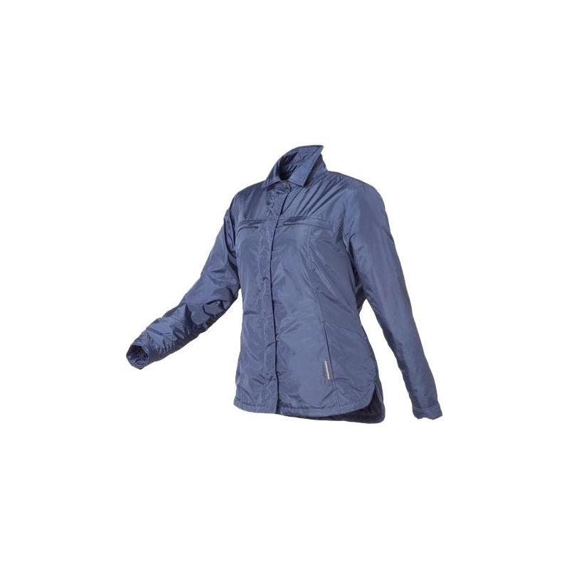 Veste courte doublé Tucano Urbano Mercoledi bleue femme