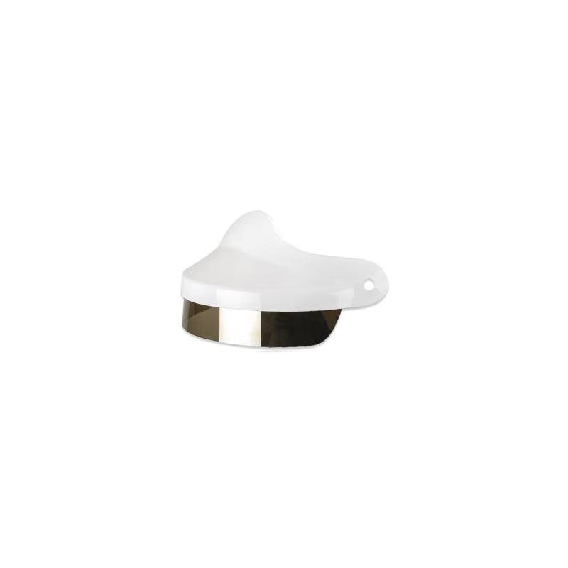 Visière Felix Motocyclette pour casque ST520 blanc brillant