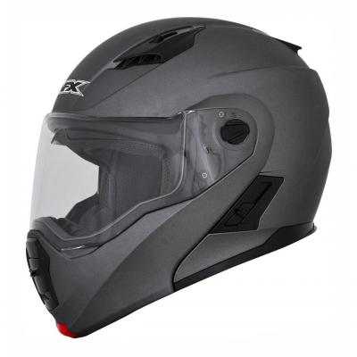 Casque modulable AFX FX111 frost grey