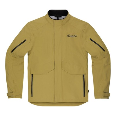 Veste textile Icon Stormhawk Tan brun clair WP