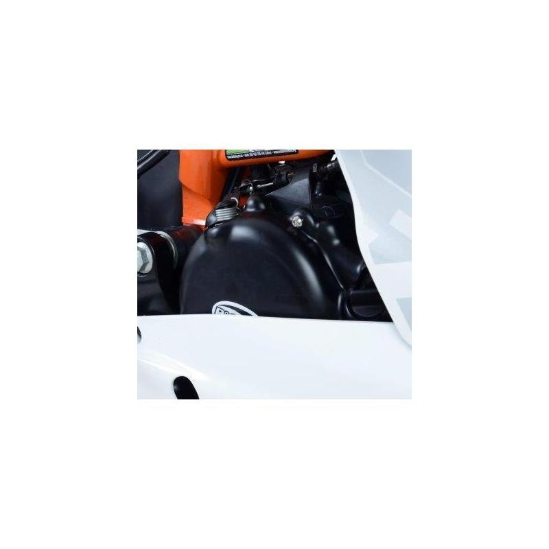 Couvre carter droit (embrayage) R&G Racing noir Ducati Diavel 1200 11-18