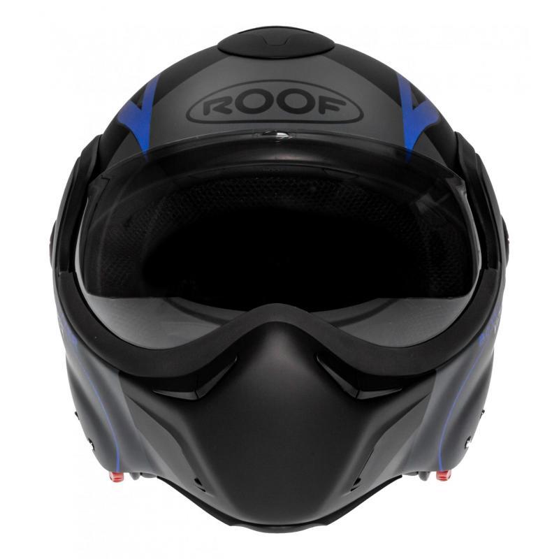 Casque modulable Roof RO9 Boxxer Viper noir/bleu mat - 5