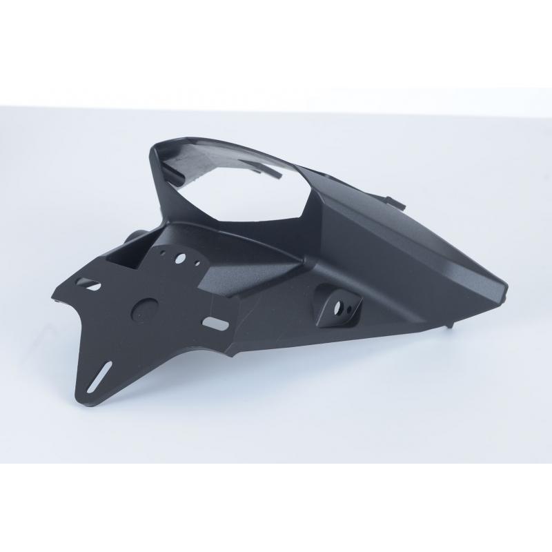 Support de plaque d'immatriculation R&G Racing noir KTM Duke 390 13-16 - 5