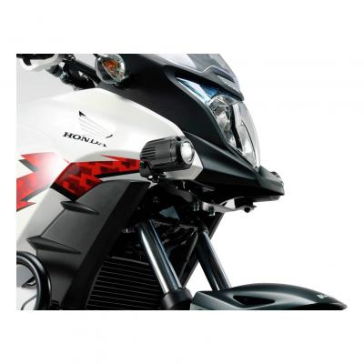 Supports pour feux additionnels SW-MOTECH noir Honda CB500X 13-17