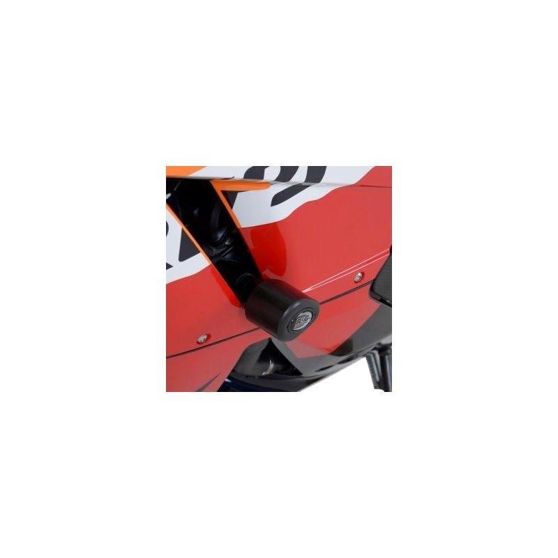 Tampons de protection R&G Racing Aero noir Honda VFR 800 X Crossrunner 11-14