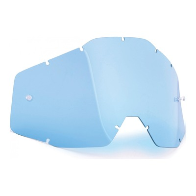 Écran FMF Vision pour masque PowerBomb et PowerCore bleu