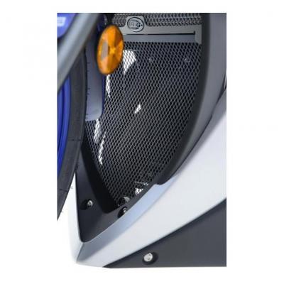 Grille de protection de collecteur R&G Racing noire Yamaha YZF-R3 15-18