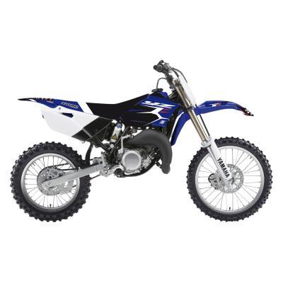 Kit déco + housse de selle Blackbird Dream Graphic 4 Yamaha 85 YZ 15-20 bleu/noir