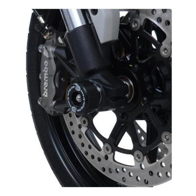 Tampons de protection de fourche R&G Racing noir Ducati Scrambler 1100 18-20