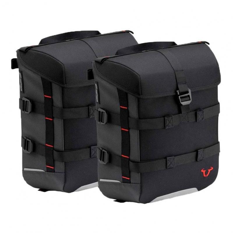 Ensemble de sacoches latérales SW-Motech Sysbag 15 litres Honda CB 125 R 18-19