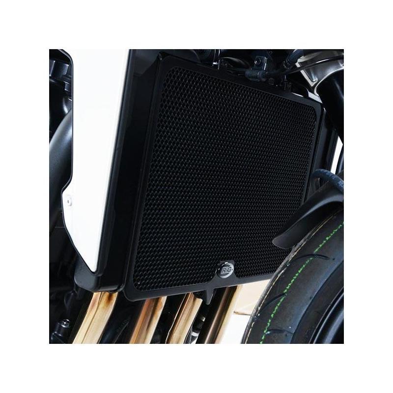 Protection de radiateur aluminium noir R&G Racing Honda CB 1000 R Neo Sport Cafe 19-20