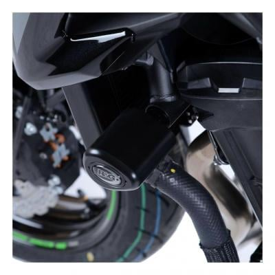 Tampons de protection R&G Racing Aero noir Kawasaki Z650 17-18