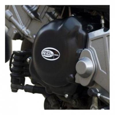 Couvre carter d'alternateur R&G Racing noir Suzuki SV 650 05-09
