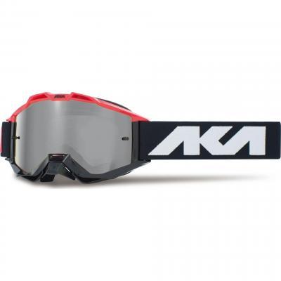 Masque cross AKA Vortika Race rouge/noir