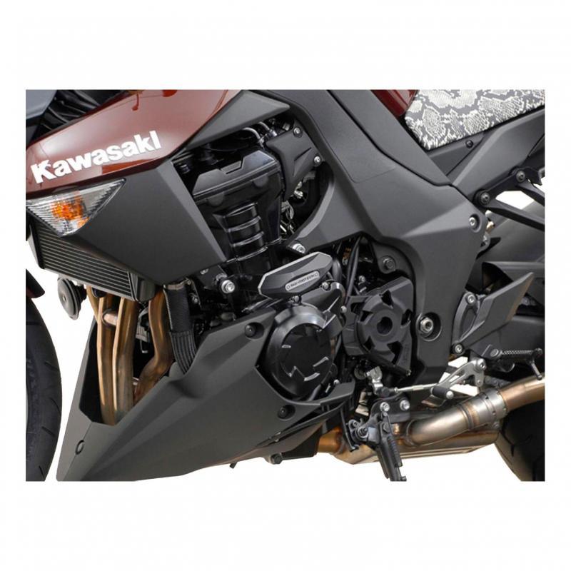 Kit de tampons de protection SW-MOTECH noir Kawasaki Z 1000 10-