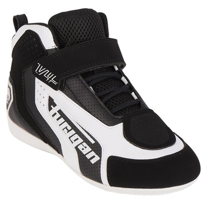 Baskets moto Furygan V4 Vented noir/blanc