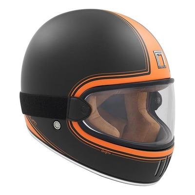 Casque intégral Nox Premium Rage Spitfire mat noir/orange