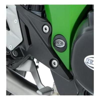 Insert de cadre droit R&G Racing noir Kawasaki Z800 13-17