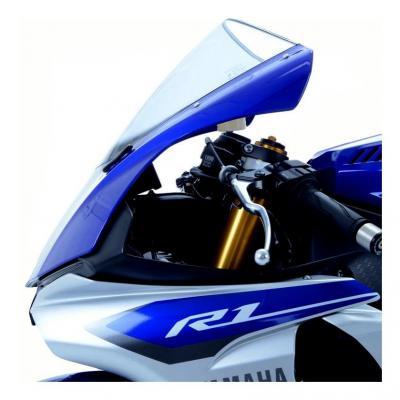 Caches orifices de rétroviseur R&G Racing noirs Yamaha YZF-R1 15-18