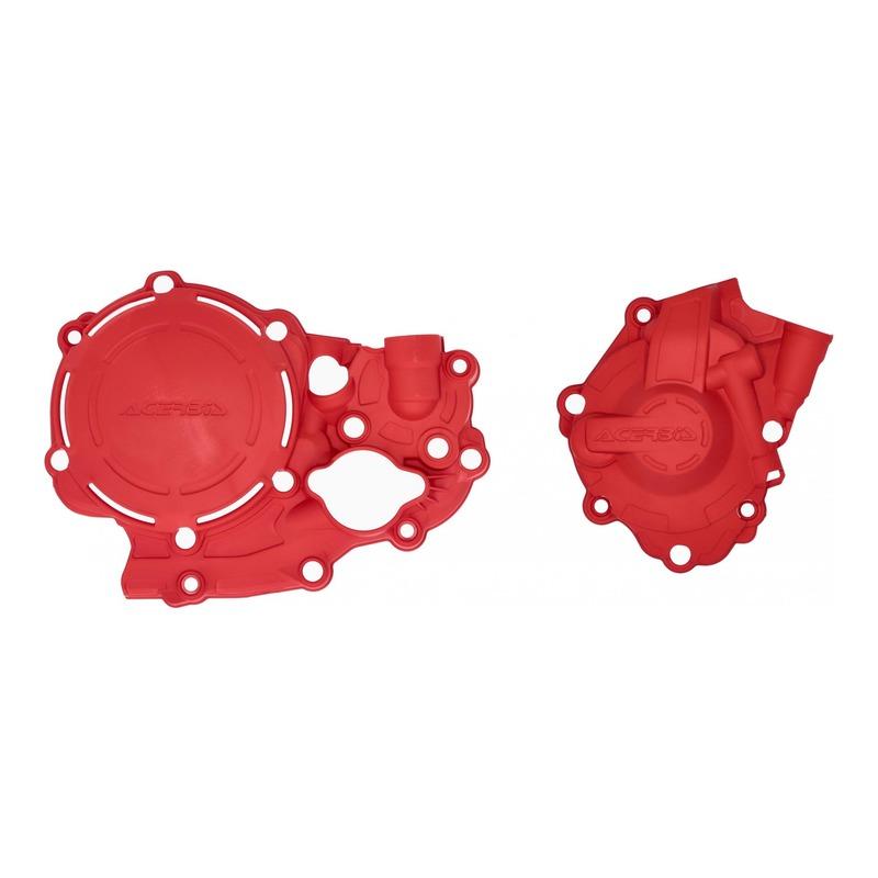Kit de protections carters Acerbis X-Power Honda CRF 250R 18-21 rouge