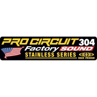 Autocollant Pro Circuit pour échappement R-304 Factory