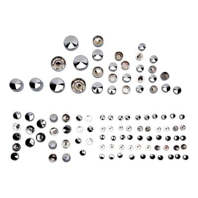 Caches boulons Drag Specialties kit Deluxe Harley Davidson Softail Rocker 09-11 chrome