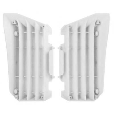 Caches de radiateur Polisport Yamaha 250 YZ-F 14-17 blanc