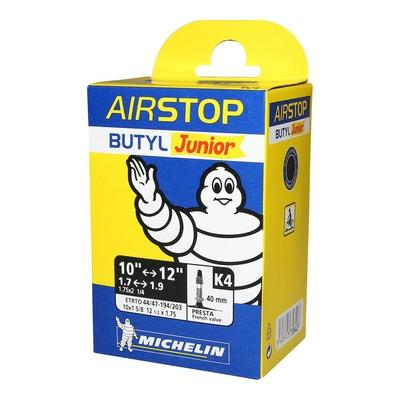 Chambre à air vélo Michelin Air Stop 10 - 12,1/2 x 1,75-1,90 K4 Presta 40mm