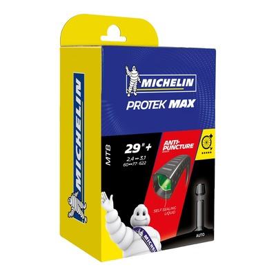 Chambre à air vélo Michelin Protek Max 29''+ (2.35 à 3.00) Schrader (avec liquide anti-crevaison)