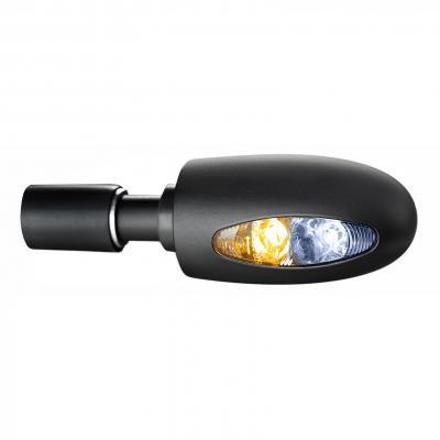 Clignotant embout de guidon Kellermann BL 1000 PL LED noir avec veilleuse intégrée