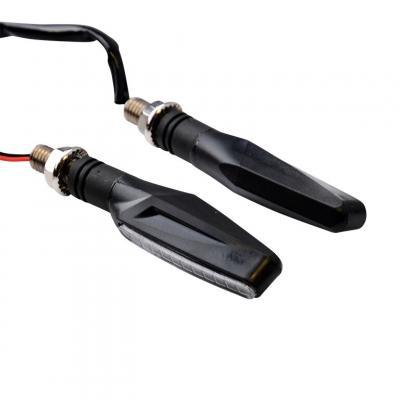 Clignotants LED Tun'R Smogg V2 séquentiels noir/fumé (paire)