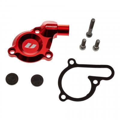 Couvercle de pompe à eau Voca Racing CNC rouge Derbi Euro 3