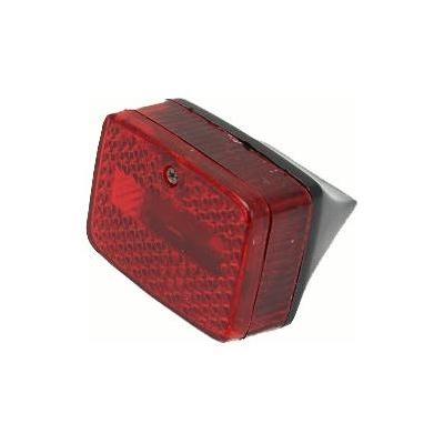 Feu arrière rouge base noire Solex/103