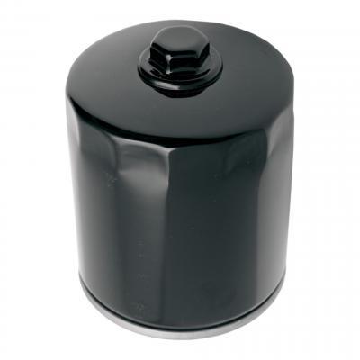 Filtre à huile Drag Specialties Harley Davidson Milwaukee Eight 17-20 avec écrou noir