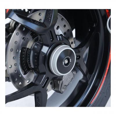Insert d'axe de roue arrière R&G Racing noir Ducati Monster 1200 S 14-20