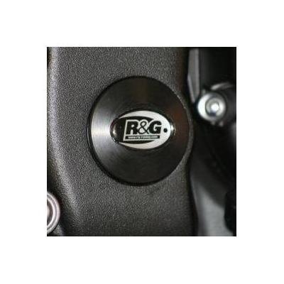 Insert de cadre inférieur droit R&G Racing noir Yamaha YZF-R6 06-18