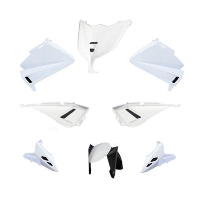 Kit carénage BCD avec poignées / avec rétro Tmax 530 12-14 blanc