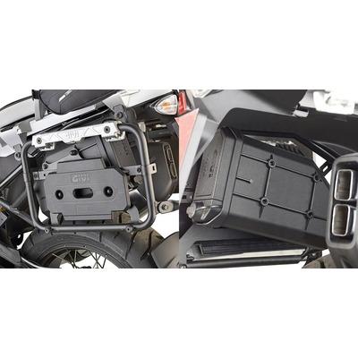 Kit fixation Givi S250 sur supports Outback PLCAM BMW R1200GS 13-17