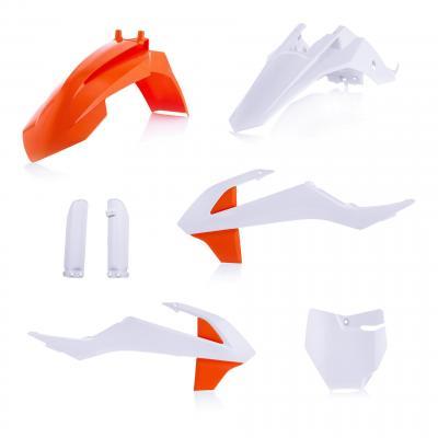 Kit plastique complet Acerbis KTM 65 SX 19-20 blanc2/orange2 (couleur origine 20)