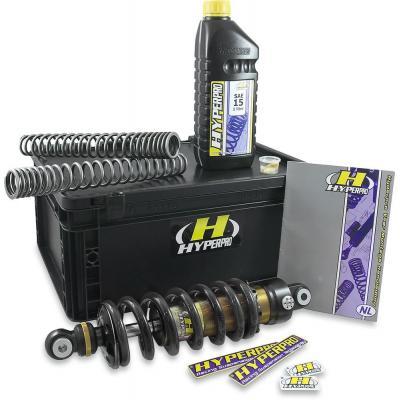 Kit suspensions Hyperpro Streetbox pour Yamaha XT 660 Z Ténéré sans ABS à partir de 2008