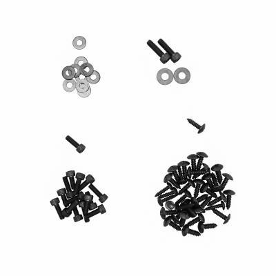 Kit vis de carrosserie Replay acier noir pour Nitro