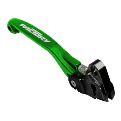 Levier de frein avant YCF repliable et ajustable vert