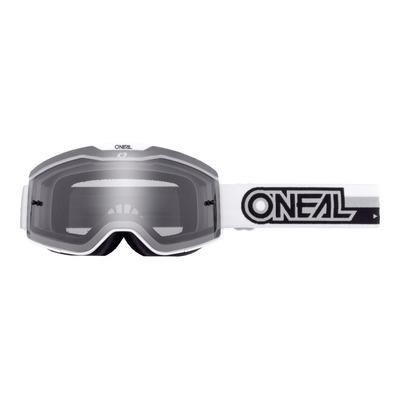 Masque cross O'Neal B-20 Proxy blanc/noir - écran fumé