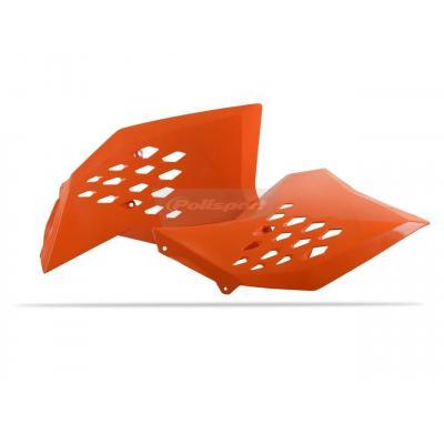 Ouïes de radiateur Polisport KTM 450 SX-F 07-10 orange