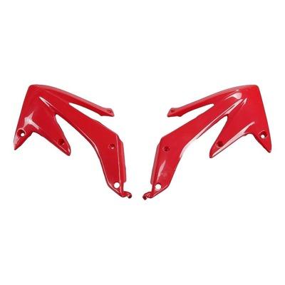 Ouïes de radiateur UFO Honda CRF 450R 05-08 rouge (rouge CR 00-12)